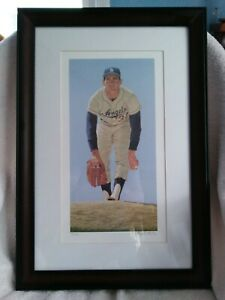 Sandy Koufax Lithograph By Arthur K Miller Pencil Signed Edition 140 150
