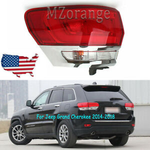 Left Outer Driver Tail Light Rear For Jeep Grand Cherokee 2014 2015 2016 2017 18