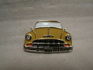 Tan 1952 Chevy Hat Pin 52 Convertible Hat Pin 52 Wagon Hat Pin Sedan Pin Gm