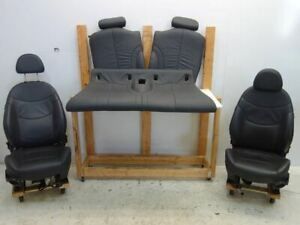 Mini Cooper Convertible Black Leather Seats Heated 05 08 R52 195