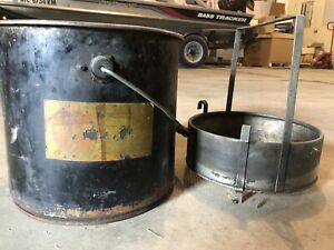 1970s Rust Master Parts Washer