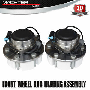 2 Pcs Front Wheel Hub Bearing Assembly For Chevy Cadillac Gmc 2wd 515053 We60912