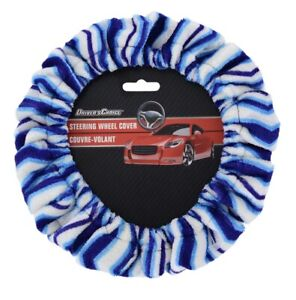 Driver S Choice Steering Wheel Cover Very Fuzzy Soft Tie Dye Hippie New