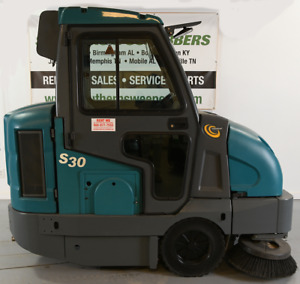 Used Tennant S30 Ride on Sweeper