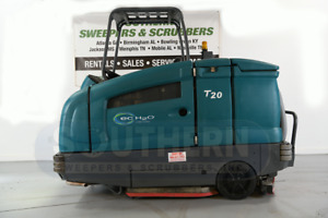 Used Tennant T20 Ride On Industrial Scrubber sweeper