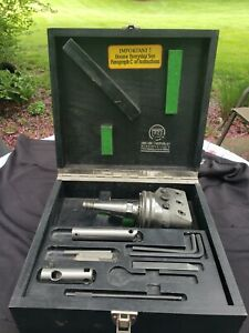 Wohlhaupter Upa 3 Boring Head W Box And Accessories Moore Tools Shank
