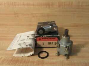 Micro Switch 9pa15 Honeywell Actuator Switch W roller Lever