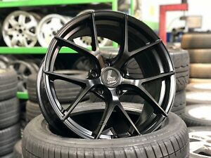 New 18 Lenso bbs Fi Design Wheel set Of 4 5x112 Mercedes Audi Volkswagen Vw
