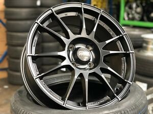 New Genuine 17 Inch Oz Ultraleggera Wheel set Of 4 Pcd 4x108 Ford Fiesta St