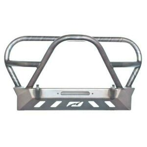 Crusher Series Front Bumper W Grill Hoop Stinger For Jeep Yj Tj Lj