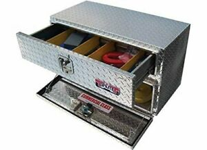 Unique Truck Accessories Ub30 20td Underbody Tool Box With Two Drawers 18x30