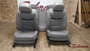 2015 2016 Cadillac Xts Seat Set Grey Leather