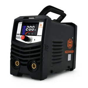 Hzxvogen Digital Mini 220v Welder Mma Arc Stick Igbt Welding Machine Welder