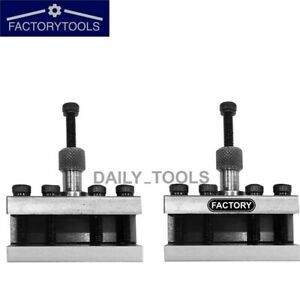 Standard Holder T37 For Quick Change Tool Post fits Myford ml7 super 7 Lathe 2pc