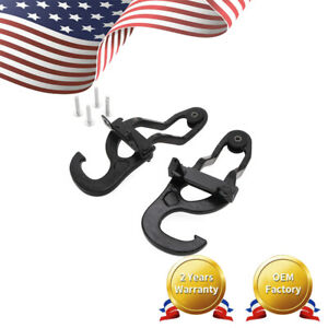 Heavy Duty Front Tow Hooks Fit For Dodge Ram 1500 2009 2019 Black New