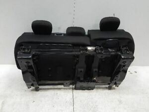 2015 Fiat 500 Rear Back Seat Bench Cloth Oem 113724