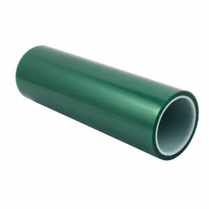 300mm X36 Yds Powder Coating High Heat Green Poly Tape