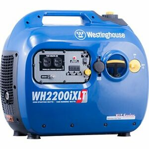 Westinghouse Wh2200ixlt Super Quiet Portable Inverter Generator 1800 Rated