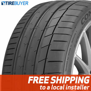 1 New 245 40zr17 91w Continental Extremecontact Sport 245 40 17 Tire