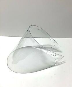 10 Pack Honeywell Fibre metal Clear Faceshield Visor 4199 clear Brand New