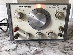 Wavetek Hg Vcg Frequency Generator Model 142