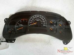 2004 Chevy Silverado 2500 Pickup Speedometer Instrument Cluster Gauges