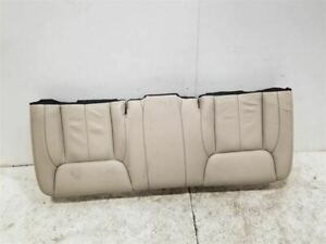 2007 Cadillac Dts Rear Back Seat Leather Bench Oem 115350
