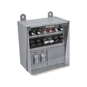 Reliance Transfer Switch Cover For 6 circuit Switches
