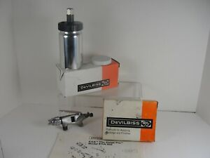 Vintage Devilbiss Spray Gun Type Ega Series 502 Made In Usa 390 Cap Manual