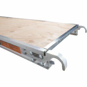 Metaltech 7ft X 19in Aluminum Platform With Edge Capping Model M mpp719re