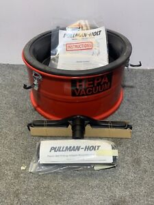 Pullman holt Dry wet Hepa Asbestos Pick up Vacuum Adapter Extension Tank B520788