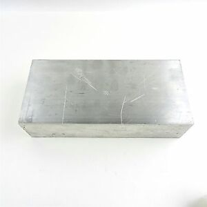 2 75 Thick 6061 Aluminum Plate 4 5 X 9 25 Long Solid Flat Stock Sku 137201