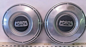 Set Of 2 Ford 1960 S Truck Fairlane Stainless Dog Dish Hubcap H6