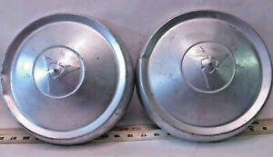 Set Of 2 Mopar Dodge Charger Plymouth Cuda Challenger Dog Dish Hubcaps H16
