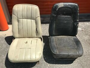 1967 1968 Camaro Firebird Front Bucket Seats Camaro Seats Local Pick Up Only