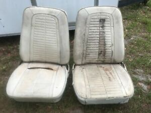 1967 1968 Camaro Front Bucket Seats Camaro Seats White Local Pick Up Only