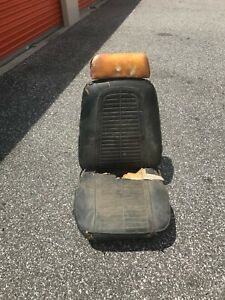 1969 Camaro Firebird Black Front Passenger Bucket Seat Only Local Pick Up Only