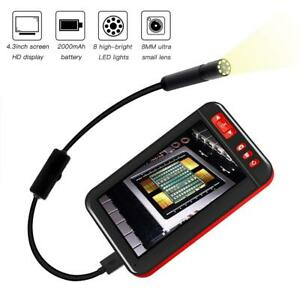 F200 4 3 Inch Color Lcd Screen Usb 1080p Endoscope Inspection Camera Borescope