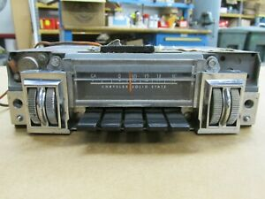 1968 1969 1970 Chrysler Dodge Mopar Charger Gtx Super Bee Am Radio Bendix 251