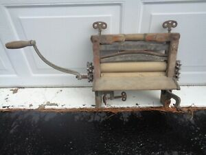 Hand Operated Wringer For Antique Clothes Washer S 288