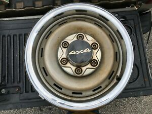 1980 Chevy Truck Rally Wheels Original
