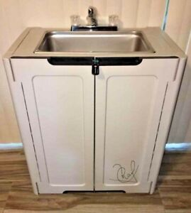 Portable Sink Nsf Mobile Handwash Self Contained Hot Water Concession Daycare