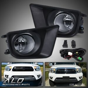 For 12 15 Toyota Tacoma Front Bumper Driving Lamps Fog Lights W Switch Bulbs