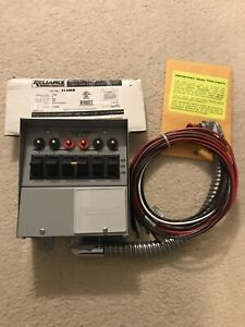 Reliance Controls Pro tran Manual Transfer Switches For Generator