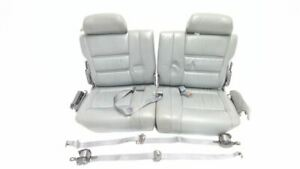 Third Row Seats With Belts Black Leather Oem 1993 Land Cruiser