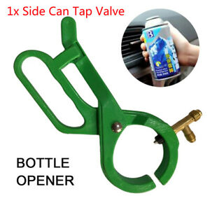 Car 3 In 1 Faucet Tool For Air Conditioning Refrigerant Oil Feed Tank Universal
