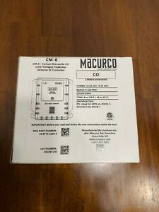 Macurco Cm 6 Gas Detector co led 0 To 200 Ppm Gray