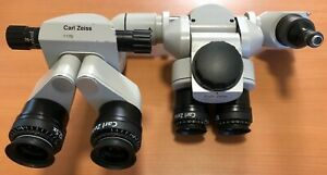 Carl Zeiss Microscope F170 Binoculars 12 5x Eyepieces Surgical System must See