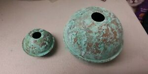 Copper Balls Quality Made Antiqued 2 4 For Weathervane Lightening Rod