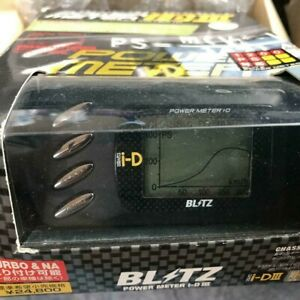 Rare Blitz Power Meter I D3 Power Speed Chassis Dynamo Dash Gauge Measurement Id